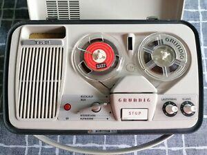 """Grundig Magnetophon TK2 von 1963 + Zubehör """" TOP ZUSTAND """""""