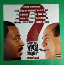 WHAT'S THE WORST THAT COULD HAPPEN MOVIE PHOTO FLAT DBL SIDED 12x12 MUSIC POSTER