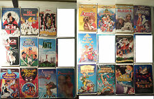 Lot of Disney VHS Tapes- $1.50 EACH +Ship, your choice! (Black Diamond +Masterp)