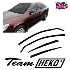 DSK28317 SKODA OCTAVIA mk2 4/5 DOOR 2004-2012 WIND DEFLECTORS 4pc HEKO TINTED