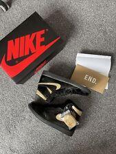 Air Jordan 1 Retro High Patent Black And Metallic Gold UK 10