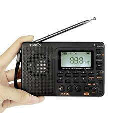 TIVDIO Portable FM/AM/SW Radio Multiband Radio Receiver MP3 Player Speakers C8F0