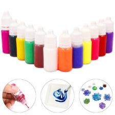 2018 Liquide Perle Résine Pigment Teinture UV Époxy Diy Joaillerie Artisanat Kit