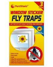 3 fenêtre Collant Fly feuilles pièges assassins Catchers Tournesol Serre flypapers