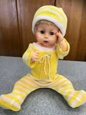 """Vintage 1960s Horsman 19"""" Thirstee Baby Thirsty Doll Drink Wet Life Size cutie"""