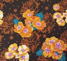 Pretty Potent BTY Anna Marie Horner FreeSpirit Primrose Gold Blue Purple Brown