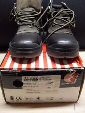 COMFORTWEAR STEEL CAP HIKER BOOT CLARET COLOUR LACE UP MENS 9 NEW IN BOX