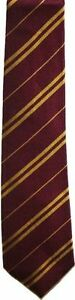 Harry Potter Hogwarts House Neckties, Red, Green, Blue, Yellow Costume Ties