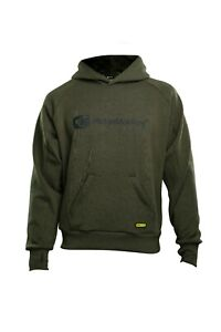 Ridgemonkey APEarel Dropback MicroFlex Hoody Green/Grey All Sizes NEW Fishing