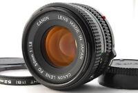 """ Near Mint "" Canon New FD 50mm F/1.8 MF Standard Prime Lens From Japan E223"