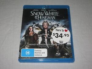 Snow White And The Huntsman - Blu Ray - Region B - VGC