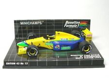 MINICHAMPS 1 43 BENETTON Ford B191b Early Season Schuma