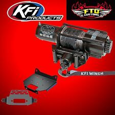KFI SE45-R2 Stealth 4500lb Winch and Mount Kit 2014-2017 Polaris RZR 1000