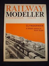 1 - Railway modeller - October 1970 - Contents page shown in photos