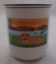 Villeroy & and Boch DESIGN NAIF LAPLAU storage jar LION 9cm BM075