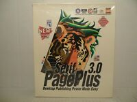 Serif 3.0 Page Plus Desktop Publishing Includes CD-ROM NEW Factory Sealed!