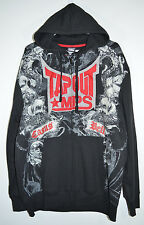 TapOut MPS Jacket Hoodie Front Zip Black/Gray/Red Men's XL