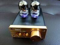Audio HiFi 6J9 Tube Integrated Amplifier Mini High-current Headphone amp