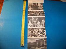 Upjohn Company Factory Tour Handout  Vintage 1984 Photographs  Kalamazoo, Mich.