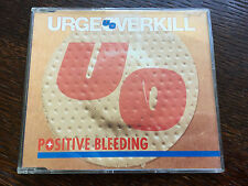Urge Overkill - 'Positive Bleeding' UK CD Single
