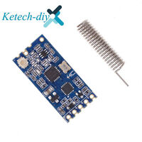 1PC Si4463 Wireless Serial Port Module 433Mhz Hc-12 1000M Replace Bluetooth L2KD