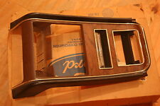 NOS 1971-1973 Mustang Woodgrain Dash Bezel Mint in Ford Box, D1ZZ-6504774-C