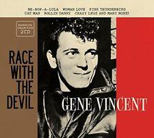 Gene Vincent Race With the Devil 2 CD Set Be-Bop-A-Lula Woman Love Cat Man +More