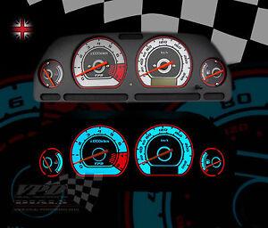 MG-ZR Rover 0-240km/h gauge speedo dash panel light bulb led interior dial kit