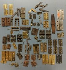 Assortment of Antique, Vintage and Some New Furniture Hinges