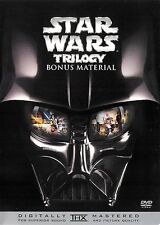 Star Wars Trilogy Bonus Material DVD with Insert Only ~ FREE Shipping