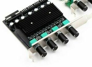 4 way 3-Pin 4pin PCI Cooling Fan Speed Controller PC Case Fan ON/OFF Adapter
