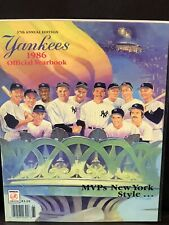 1986 New York Yankees Yearbook - MVPs NY Style