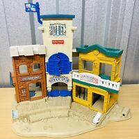 Vintage 1996 FISHER PRICE Great Adventures Wild West Town Play Set