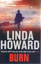 Burn by Howard Linda - Book - Pictorial Hard Cover - Fiction - Action/Adventure