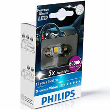 Philips XTREME VISIÓN Festoon Bombilla LED C5W 6000K 38MM (single Bombilla)