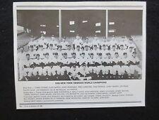 NY DAILY NEWS  NY YANKEES  1950 WORLD SERIES TEAM PHOTO & HEADLINE SERIES 13/26