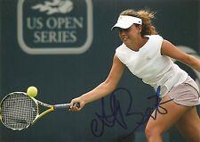 Michelle Larcher De Brito Tennis 5x7 PHOTO Signed Auto