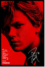 RIVER PHOENIX ART PHOTO PRINT POSTER STAND BY ME