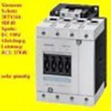 Siemens Schütz,37KW,110V/DC,3RT1344-1BF40,4S,100A,NEU,3RT