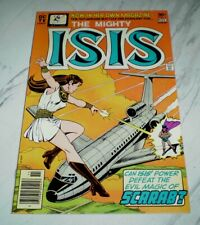 Isis #1 Mint 9.9 White pages Unrestored 1976 DC based on the TV series
