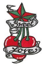 Patch écusson thermocollant hotfix patche Sweet Love Tattoo brodé