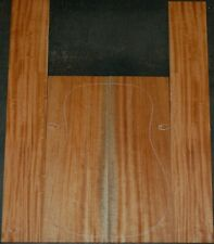 African Mahogany acoustic guitar back and Side set Luthier Tonewood