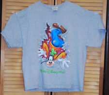 Walt Disney World Goofy Light Grey 2 sided Graphics Tshirt