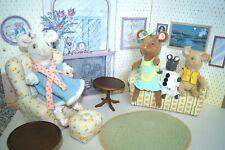 ANGELINA BALLERINA Huge Lot American Girl Cottage Furniture Outfits Dolls