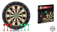KIDS MAGNETIC DART BOARD WITH 6 DART PLAY Game Set Children Gift Toy TB27861 UK