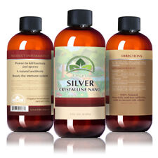 The BEST Nano Colloidal Ionic Silver! 8 oz 30 PPM. Colloidal Mineral Supplement!