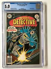 Detective Comics #467 (Jan-Feb 1977, DC) - CGC 5.0