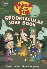 Phineas and Ferb Spooktacular Joke Book, Disney Book Group,Bernstein, Jim,Peters