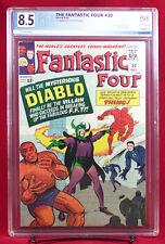 FANTASTIC FOUR #30 (Marvel 1964) PGX 8.5 VF+ Very Fine Plus FIRST DIABLO +CGC!!!