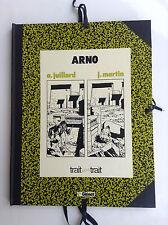 TL tirage Luxe Arno Juillard Martin sérigraphie 1000 ex TBE